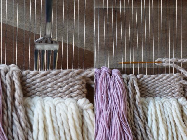 Cómo tejer arte textil