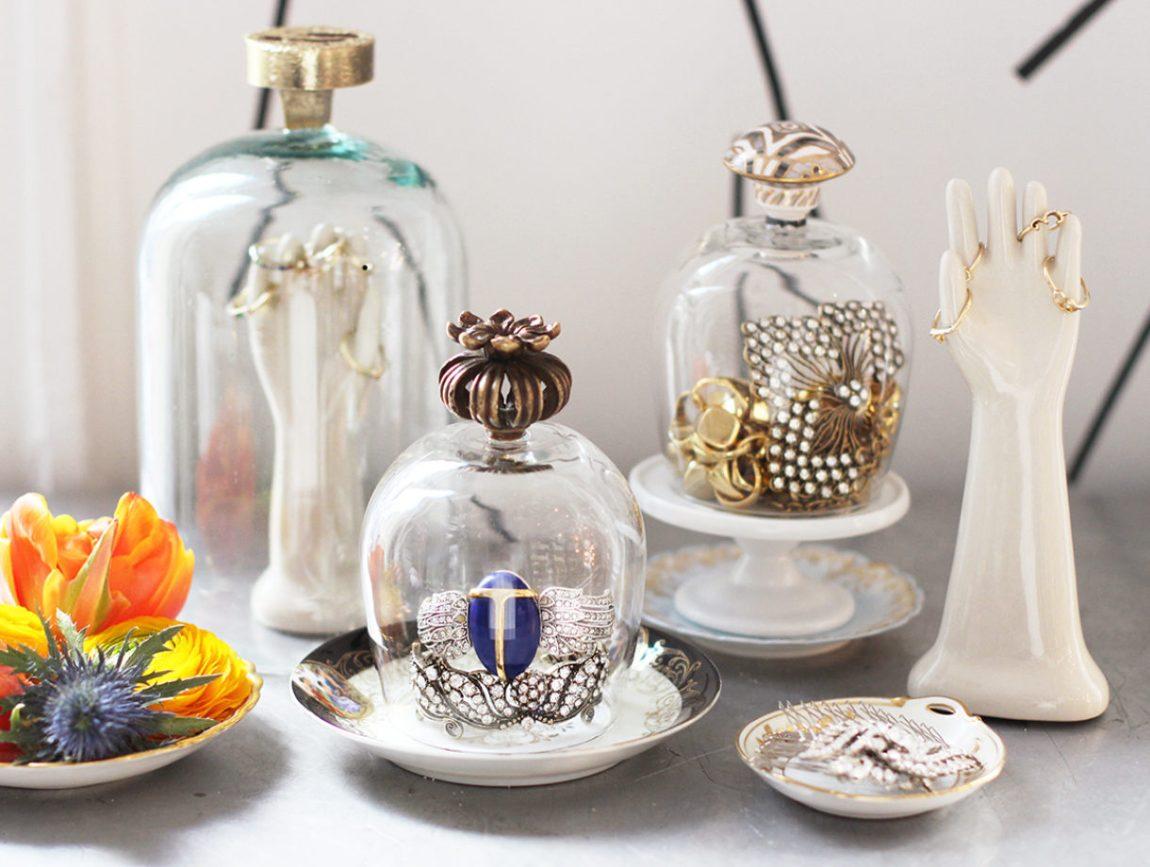 DIY | Bote de cristal decorativo