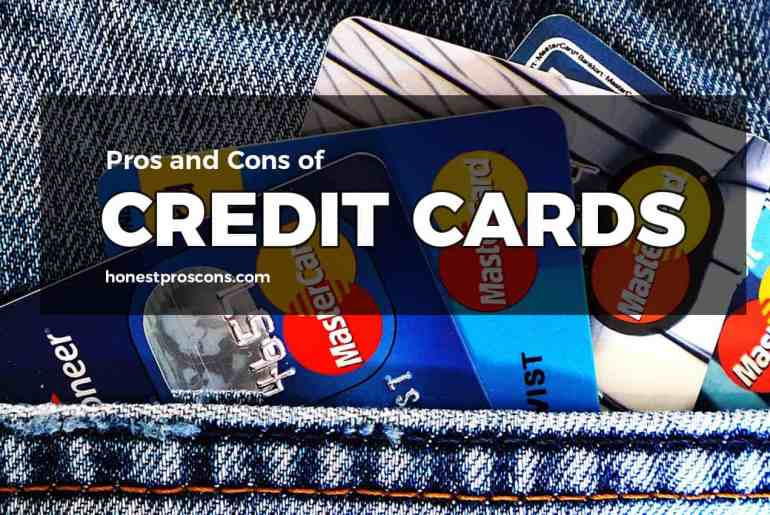 Pros and Cons of Credit Cards