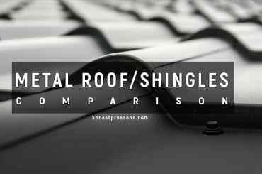 Metal Roof and Shingles