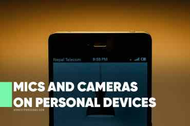 Mics and Cameras on Personal Devices
