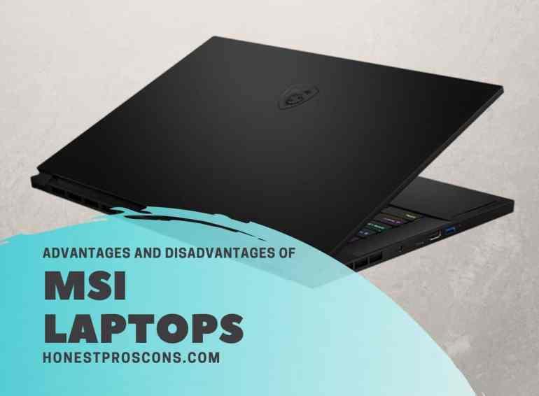 MSI Laptops Pros Cons