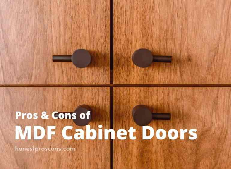 Pros and Cons of MDF Cabinet Doors