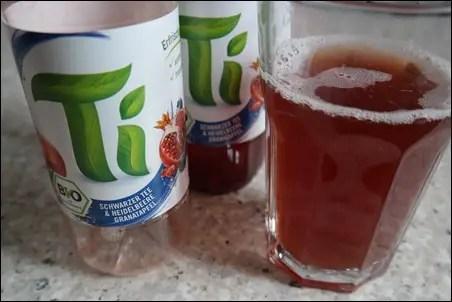 Ti Schwarzer Tee & Heidelbeere Granatapfel