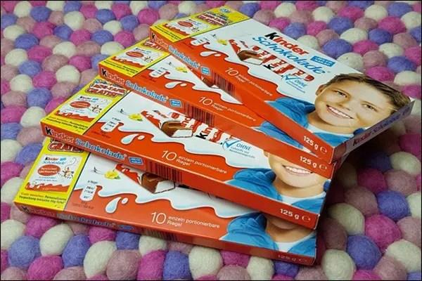 Kinderschokolade gratis bestellen