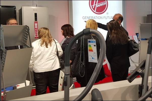 Candy Hoover Electronic Partner Messe