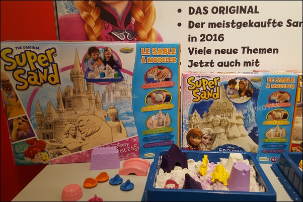 Super Sand auf der Spielwarenmesse 2016