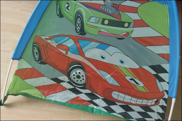 Izzy Sport Kinderspielzelt Cars