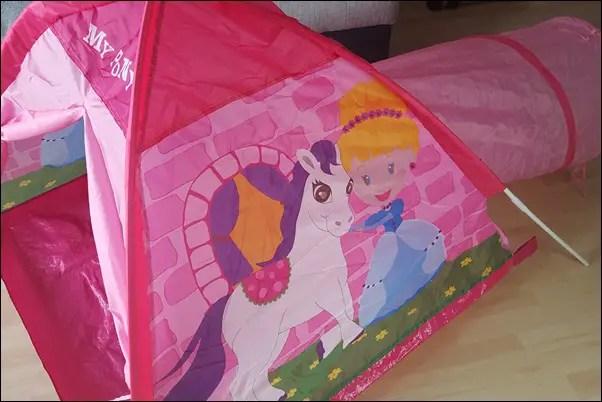Izzy Sport Kinderspielzelt Prinzessin