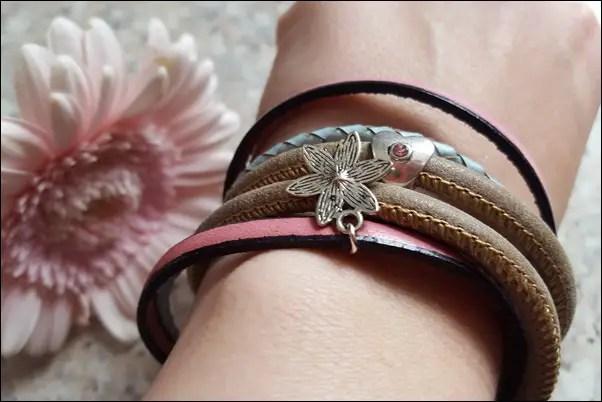 SCHÖNES Lederarmband von Barthy's bracelets