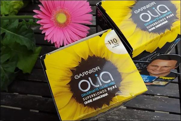 HAARE färben mit Garnier Olia kühles aschblond 110