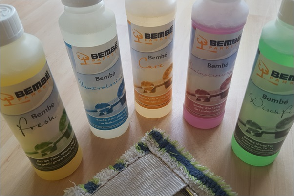 WELLIS machen Dreck - Bembé Parkett Laminatpflege