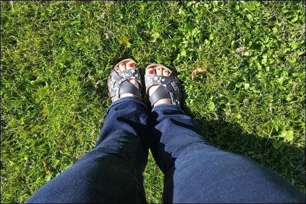Schöne Füße mit Balsan Fußpflege