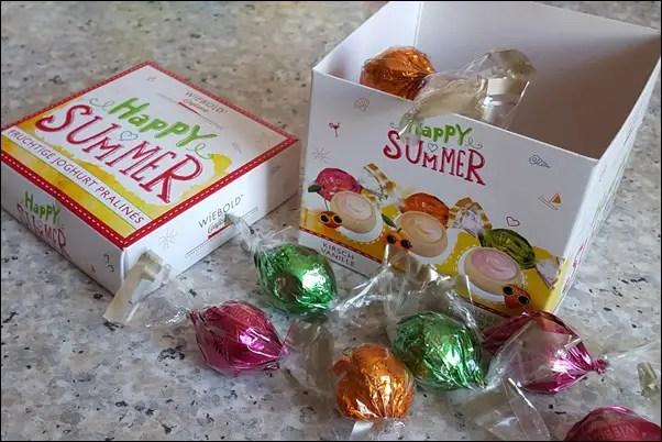 Wiebold Happy Summer weiße Pralinen