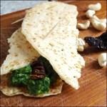 Iglo Spinat mit Alpro Vegan - veganer Wrap