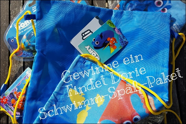 Gewinnspiel Findet Dorie Schwim Spass Paket