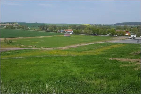 Hausbau Niddatal Bönstadt Grundstück Mai 2016