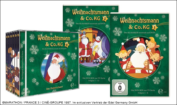 Weihnachtsmann & Co. KG CD und DVD Box