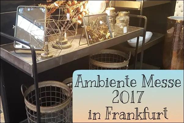 Ambiente 2017 Messe Frankfurt
