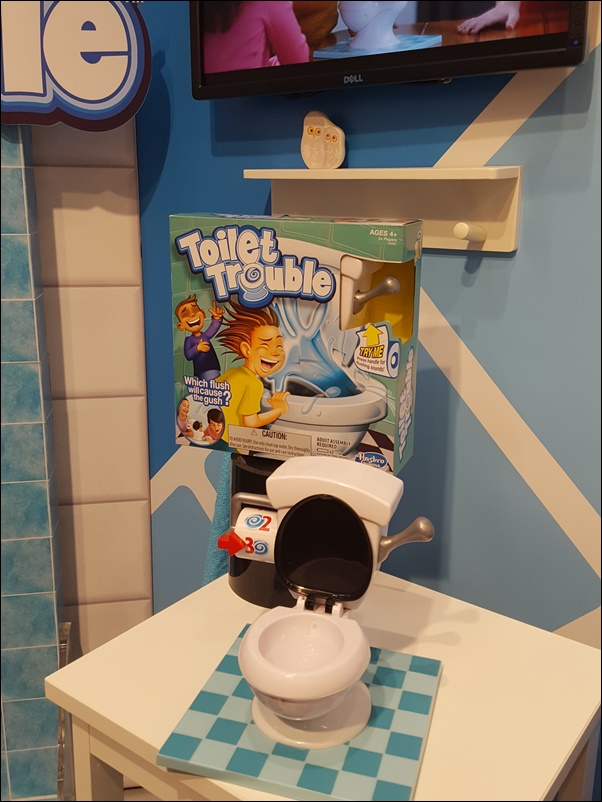 Spielwarenmesse 2017 Toilet Trouble