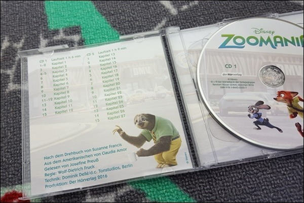 Disney Zoomania als Hörspiel für Kinder