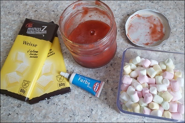 Lowcarb Einhorn Schokolade - verrückte Rezepte