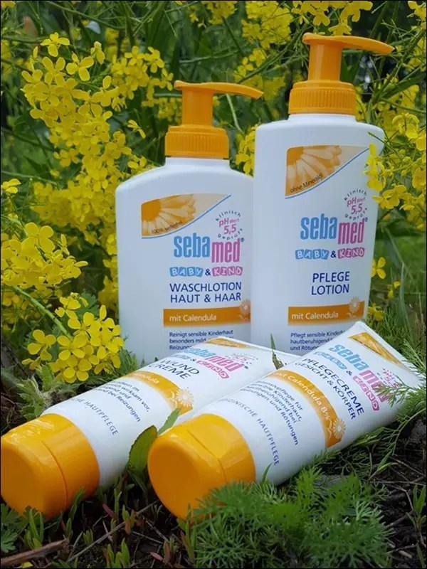 sebamed Calendula Pflegeserie für Baby & Kind