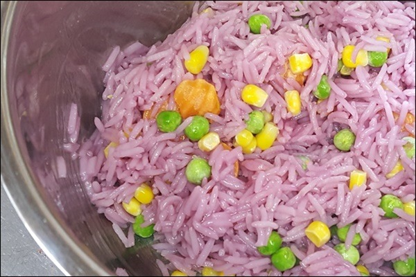 Wedding Rice - pinken Reis selber machen