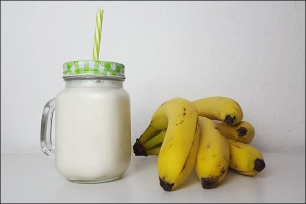 Kefir selber machen mit Banane