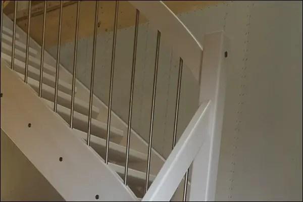 Unsere Treppe - Hausbau im Niddatal Bönstadt