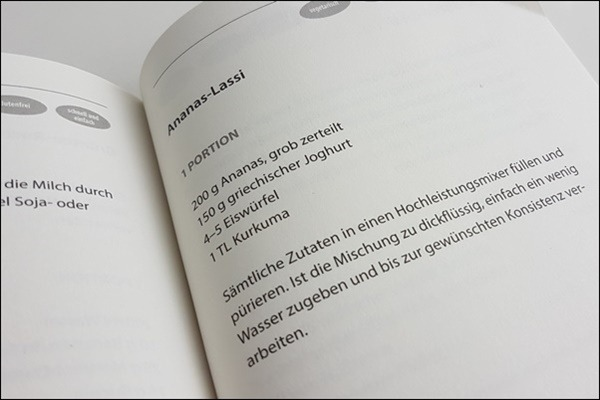 Sirtuin Diät - Sirtuin Kochbuch Ananas-Lassi