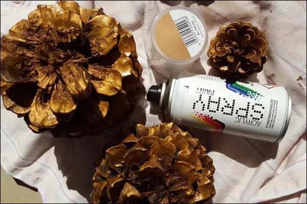Easy DIY und Upcycling - Herbstdeko unter 1 EUR basteln mit Acrylfarbe