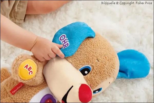 Tolle Weihnachtsgeschenke für die ganz Kleinen von Fisher-Price Lernspaß Hündchen