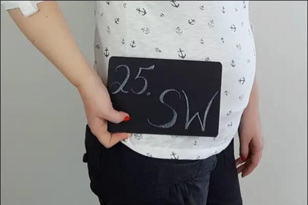 25. Schwangerschaftswoche