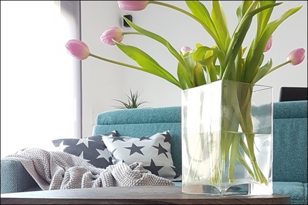 Interior und Einrichtung im Wohnzimmer