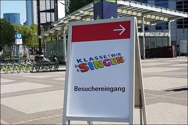 Klasse! Wir singen - Veranstaltung in der Festhalle Frankfurt