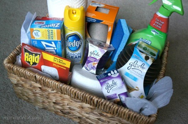 Home Essentials - What to put in a housewarming gift basket