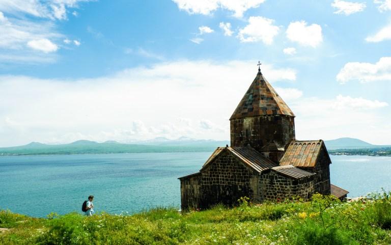 Sevanavank Monastery, Lake Sevan, Armenia