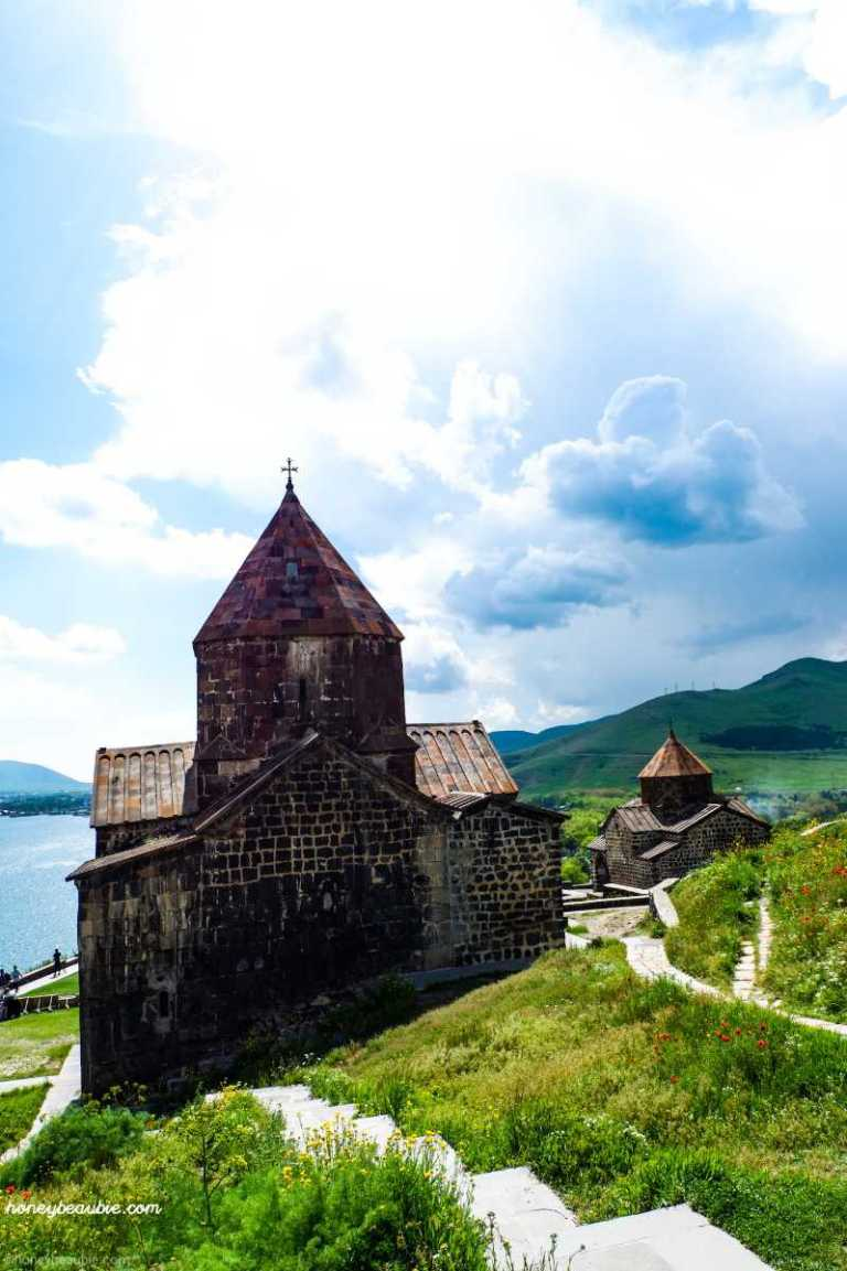 two medieval churches of sevanavank monastery complex
