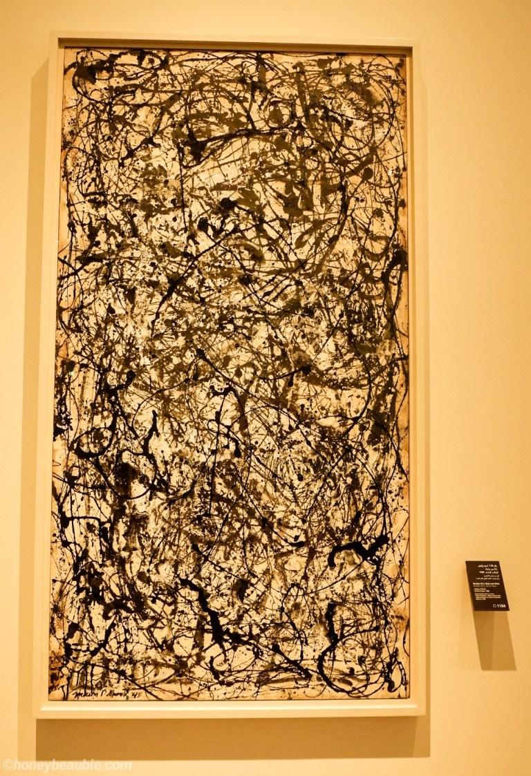 jackson-pollock-abstract-painting-display-louvre-abu-dhabi-uae