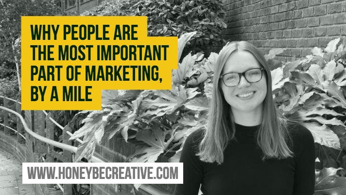 Why people are the most important part of marketing, by a mile