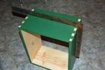 8. Make sure box is square.
