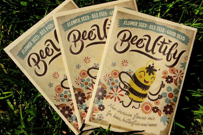 Bee-u-tify-seed-packet