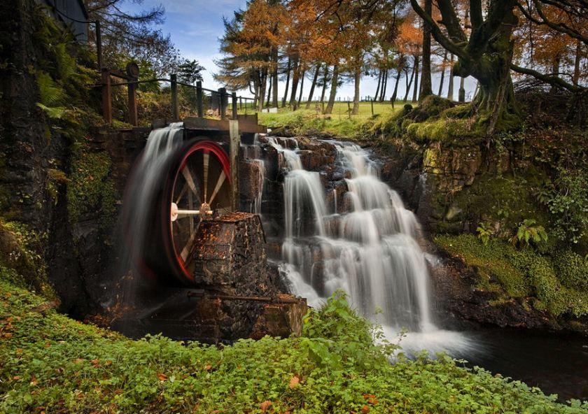 El-molino-de-agua-the-waterwheel