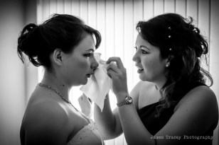 Honeyblossom Bridal boutique owner Jenny on friend's wedding day