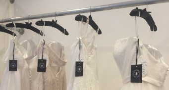 So Sassi wedding dresses available at Honeyblossom Bridal