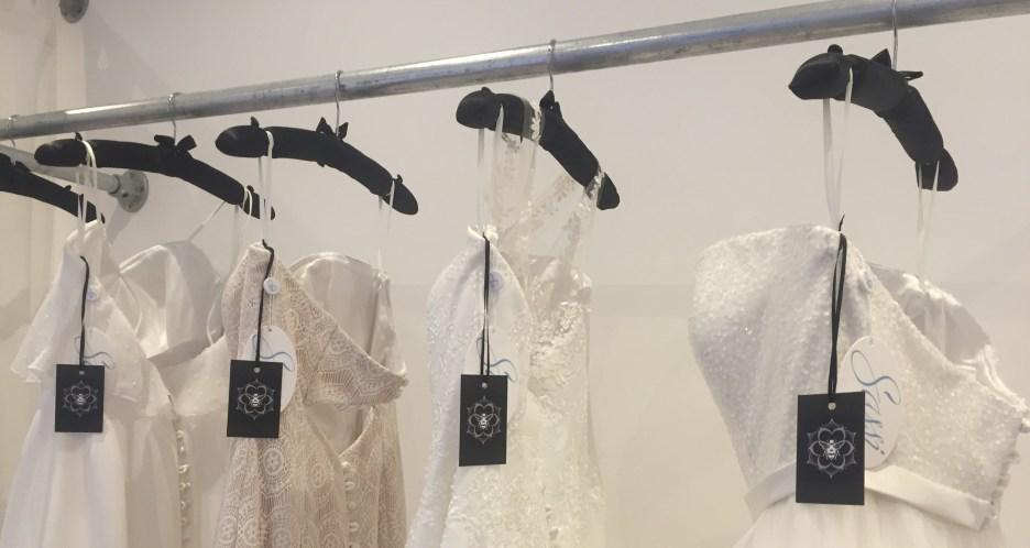 So Sassi wedding dresses available at Honeyblossom Bridal