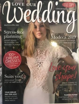 Wedding shop magazine