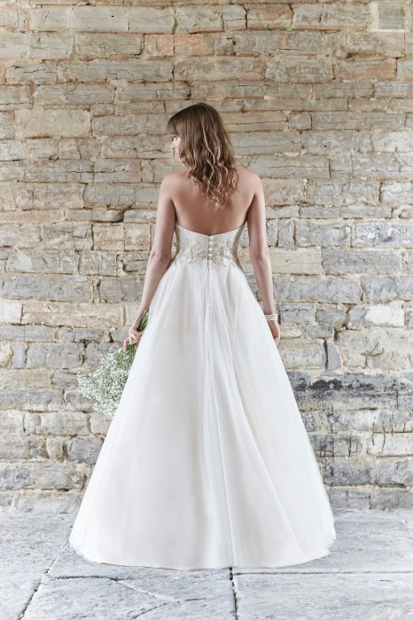 So Sassi Alanis cappuccino wedding gown