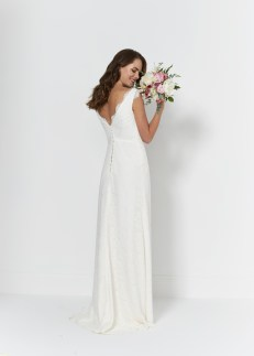 So Sassi Bianca lace wedding dress
